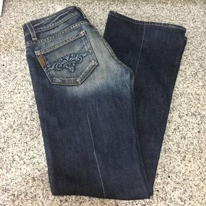 [PAIGE] Flare distressed Jeans